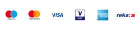 Logos Zahlungsmittel - Kreditkarten_